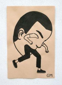 Paper Paintings - Geoff Mcfetridge